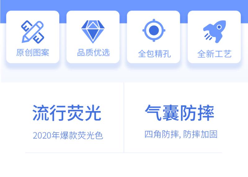 幸运情侣 荧光精孔 苹果/华为系列手机壳插图4