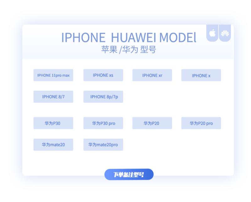 幸运神之九路财神 皮纹三合一 苹果/华为系列手机壳插图