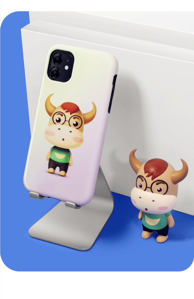 幸运十二生肖 真二合一/小蛮腰 苹果/华为系列手机壳插图(9)