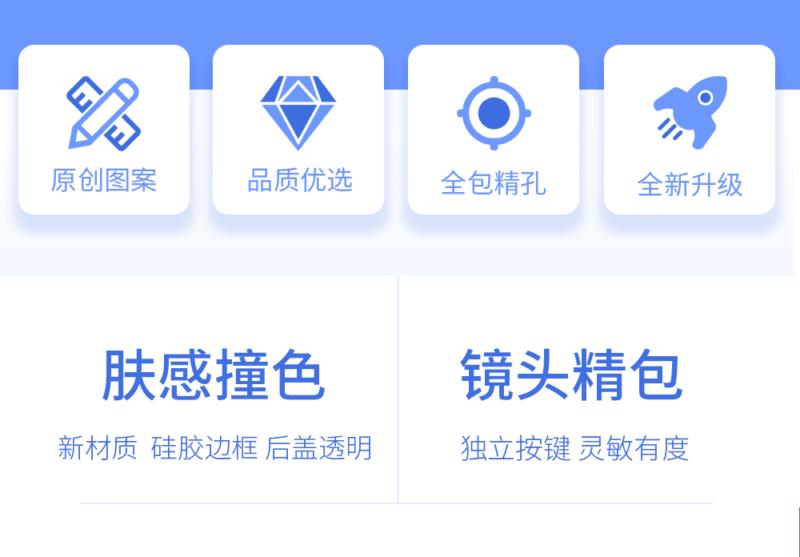 幸运星座古装 护眼磨砂 苹果/华为系列手机壳插图(8)